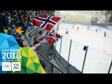 Ice Hockey - Men's Preliminaries - RUS vs NOR | Lillehammer 2016 Youth Olympic Games