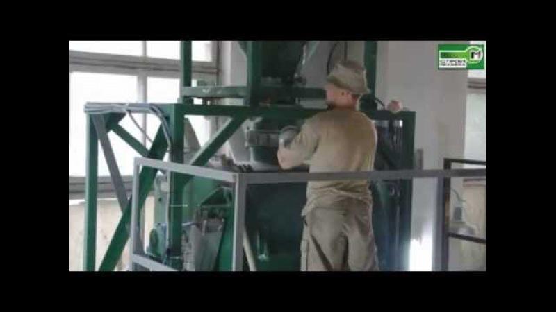 Мини завод ТУРБОМИКС 500 для производства сухих строительных смесей Производственный участок компани