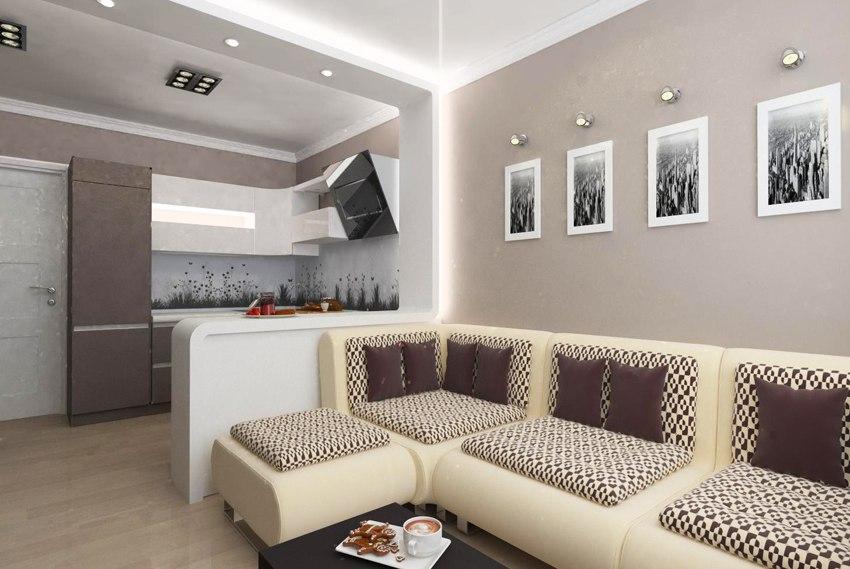 Концепт квартиры-студии 24 м.
