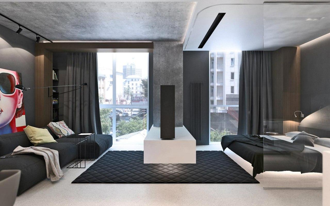 Проект квартиры без точного метража.
