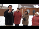 Встреча с жителями д. Тумерсола Медведевского района, по вопросу отсутсвия уличного освещения.