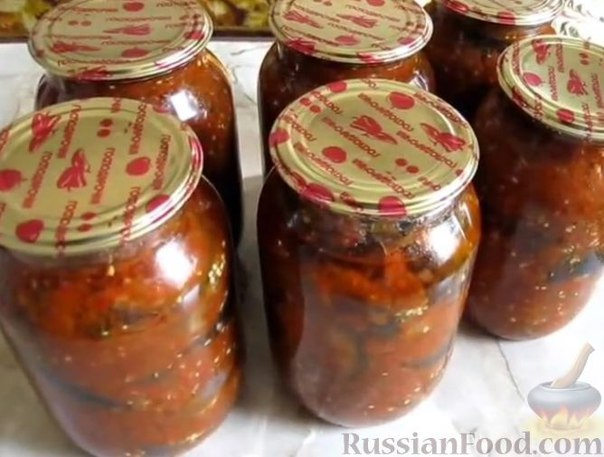 Кобра из баклажанов на зиму рецепт