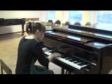 Ф. Шопен op.10 Этюд №8 Фа мажор Исп. Баранова Ксения