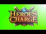 Открываем золотые сундуки! Heroes Charge #7
