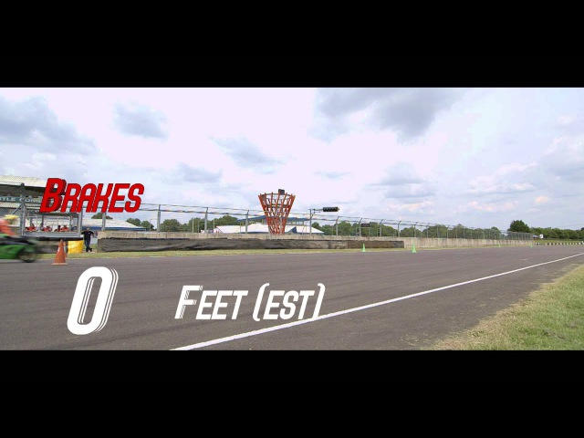 HEL Performance   Brake Test   Castle Coombe Circuit