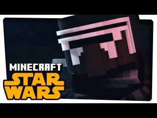 STAR WARS 7 MEETS MINECRAFT - A Minecraft Animation