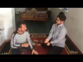 Асхаб Бурсагов с другом пародируют Лепса Прикол_144p
