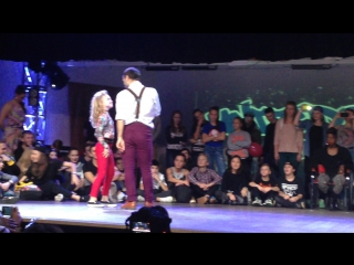 United Dance Open 2015. Waacking. 1/2. Kulagina Arina vs Alan Mambetov.