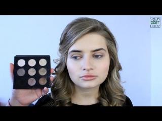 Красивый дневной макияж c акцентом на глаза. ♥ Макияж на каждый день