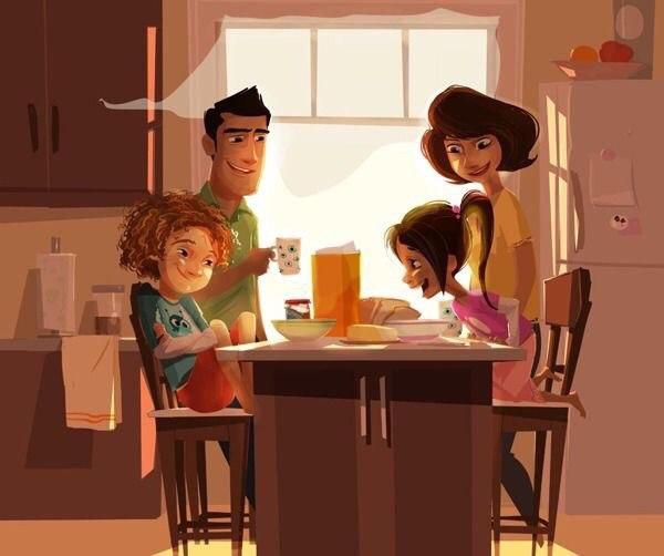 Семья — это не люди, это место. Место, где хранятся воспоминания.