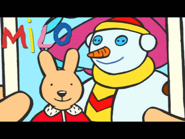 Milo and the snowman | Cartoon for kids