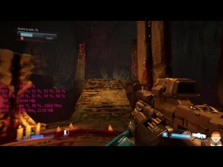 Doom Open Beta Pc 4K AMD Fury X Frame Rate Performance Test