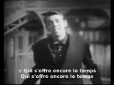 Jacques Brel - Une valse a mille temps (with lyrics)