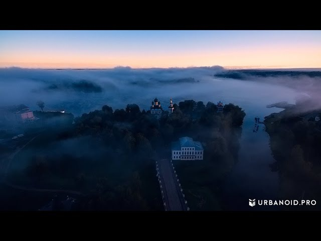 Углич, Золотое Кольцо России || Best Aerial Video HD 4K