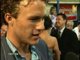 Interview with Heath Ledger at A Knight's Tale premiere