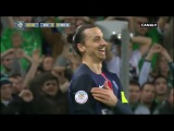 Zlatan Ibrahimovic Vs AS Saint Etienne (AWAY) ● Individual Highlights ● 31/01/2016