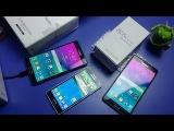 Samsung Galaxy Note 4 SM-N910X и Alpha SM-G850X Live Demo Unit где купить? Распаковка Unboxing