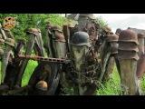 Коп по Войне/Показ немецких касок и оружия ВОВ/WW2 во дворе у фермера.
