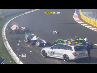 Большая авария - GP3 2014 - Sochi