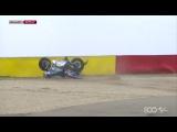 Авария Валентино Росси - Aragon GP