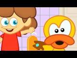 Yıka Yıka (El yüz yıkama şarkısı) - Adisebaba Sevimli Dostlar Çizgi Film Çocuk Şarkıları