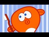 FIRÇALA SEN DE - Sevimli Dostlar Eğitici Çizgi Film Çocuk Şarkıları