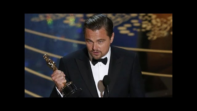 Leonardo DiCaprio has received Oscar Леонардо ди каприо получил оскар 2016