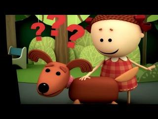 Аркадий Паровозов спешит на помощь - Собака - серия 28 - мультики детям