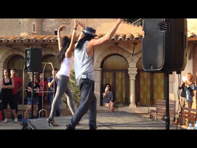 Seo Fernandez Eneris Mulgado dancing Talk Dirty by Derulo at the Cubano Cubano Congress 2014