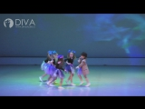 Детские танцы 5-7 лет от DIVA Studio, хореограф Татьяна Егорова