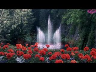 Завораживающая музыка на фоне фонтанов