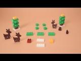 Новый год с LEGO® DUPLO® строим елочку!