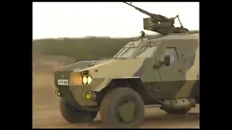Мотострелковые войска Бронированная патрульная машина «Дозор»