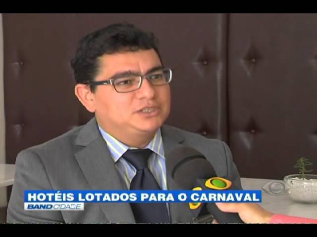 Band Cidade Hotéis lotados para o carnaval