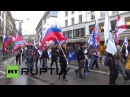 Switzerland: Pro-Russian protesters decry NATO aggression in Zurich