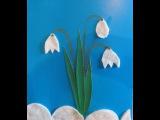Делаем открытку с 8 марта Видео для детей / children's crafts