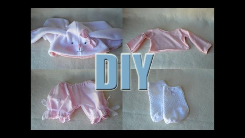 DIY - Parte 03 - Como hacer ropas para vuestras muñecas