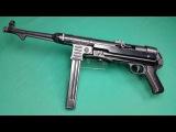 GSG MP40 Kaliber 9mm P.A.K. Review Schusstest