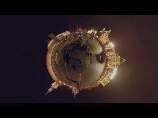 Видео 360: Ночная репетиция парада Победы на Красной площади из кабины «Тигра»