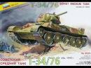 Ретро обзор модели танка Т-34-76 1943г. в 1/35 от Звезды Zvezda T-34-76 Retro Review, 135