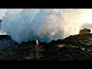 Опасные Волны. Что Будет Если Накроет Большой Волной. Как Зашивают Ногу