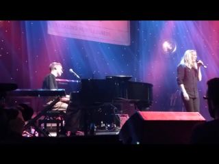 Santa Baby - Ellie Goulding and Olly Alexander at The Roundhouse, London  16.12.15