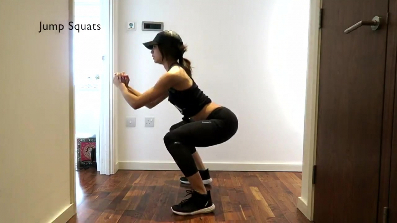 Danielle Peazer ‏ I created this super quick weekendworkout for legs bum, do each exercise for 20secs, repeat 3-4 times! Enjo