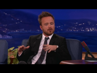 """Aaron Paul Cant Stop Saying """"Bitch"""""""