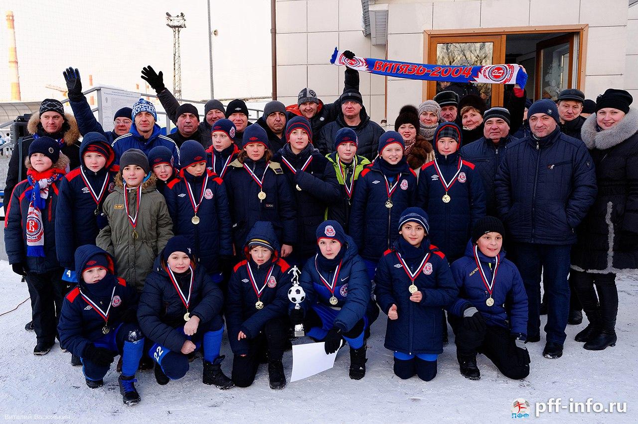 Зимний Кубок Подольска-2016 в городе Подольске на стадионе «Планета» среди 2004 г.р. 10.01.2016 года