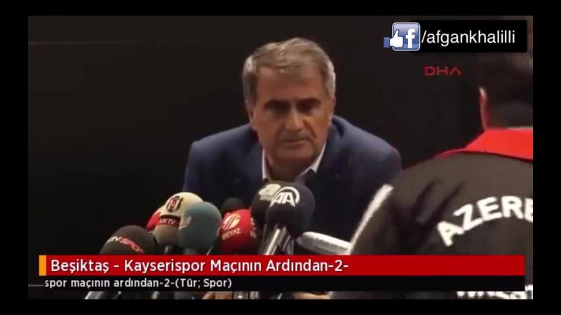 Şenol Günəş: Qarabağ-la oyundan şərəf duyarıq!