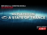 Ben Gold feat. Christina Novelli - All Or Nothing (Allen Watts Remix) A State Of Trance 756