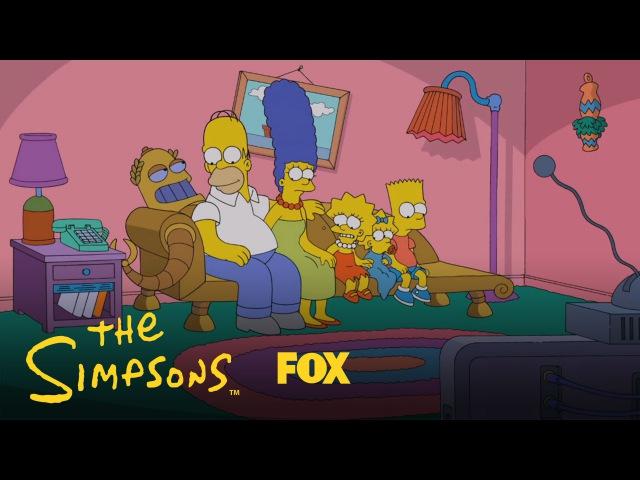 The Simpsons/Futurama Couch Gag   Season 26 Ep. 6   THE SIMPSONS
