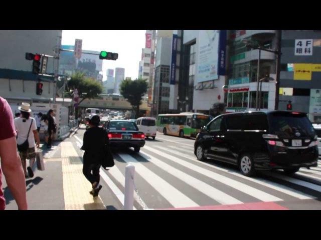 Япония Лето Гуляем по Сибуя с Жульеном