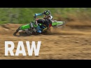 Ripping the 125 ft Joey Crown on the KX125 at Baja Acres MX